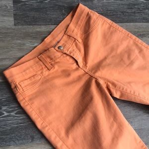 Denim - Light orange skinny pants